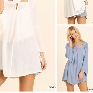 Powder Blue Umgee Tunic.